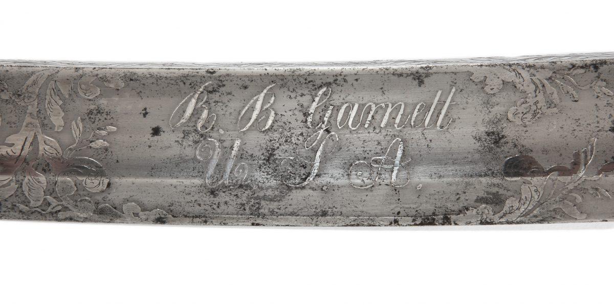 Richard B. Garnett's Sword