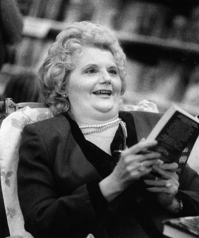 V. C. Andrews at a Reading