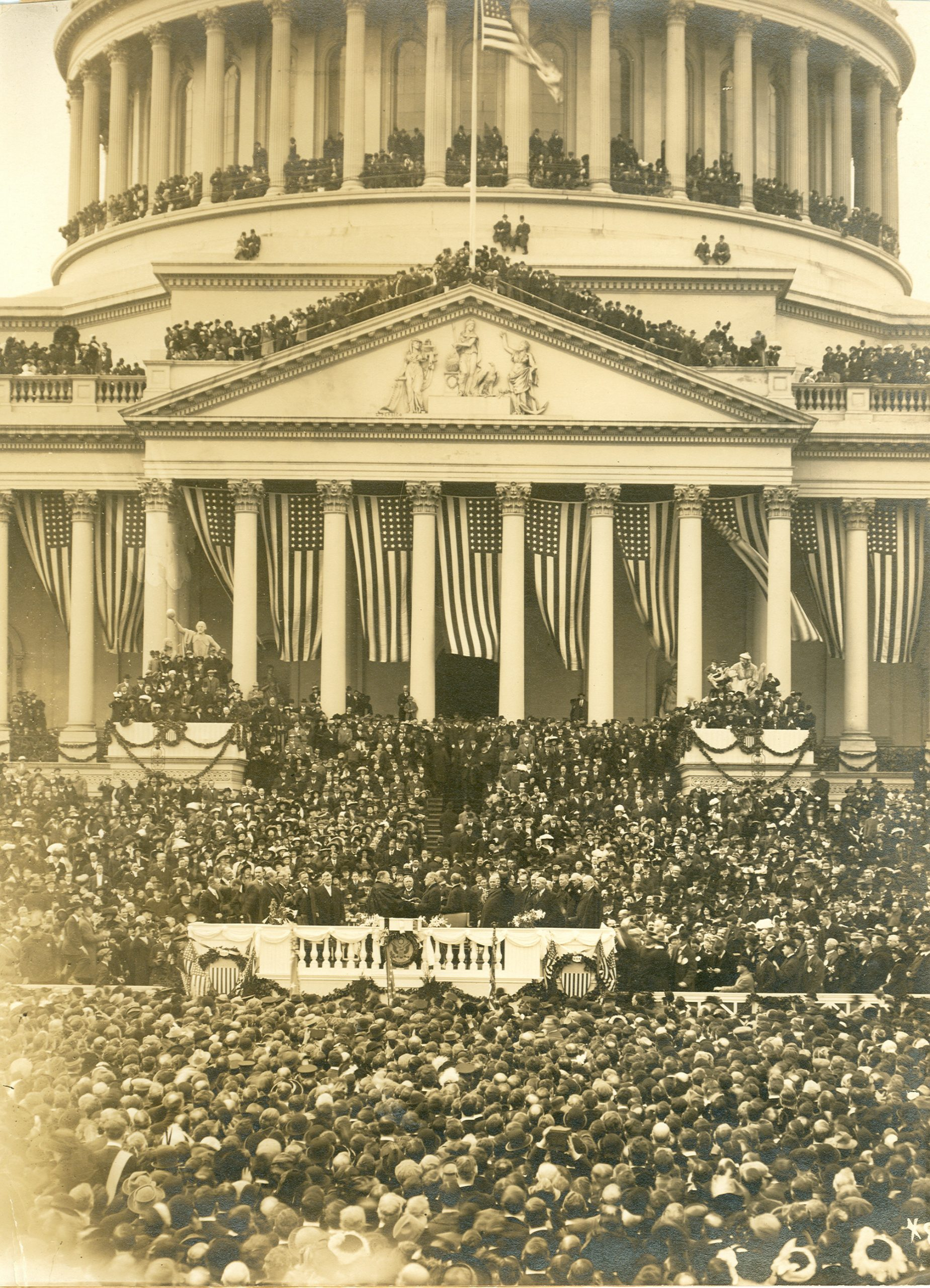 Woodrow Wilson's 1913 Inauguration
