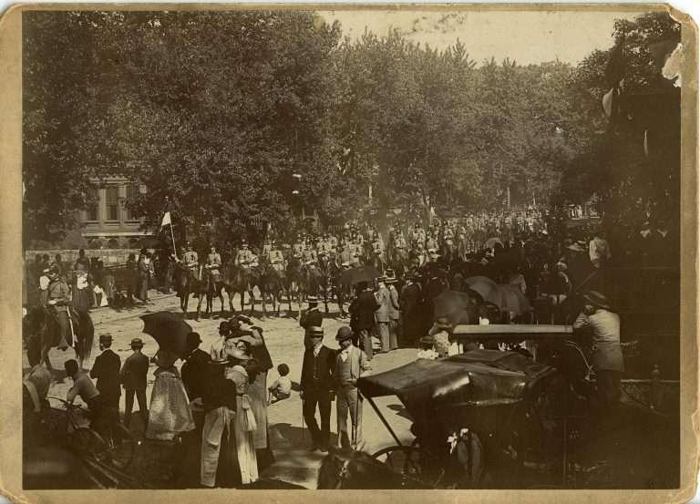 Jefferson Davis's Funeral Cortege