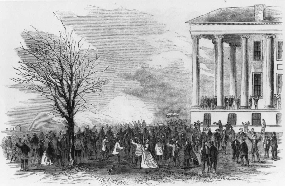 Confederate Celebration at the Virginia State Capitol