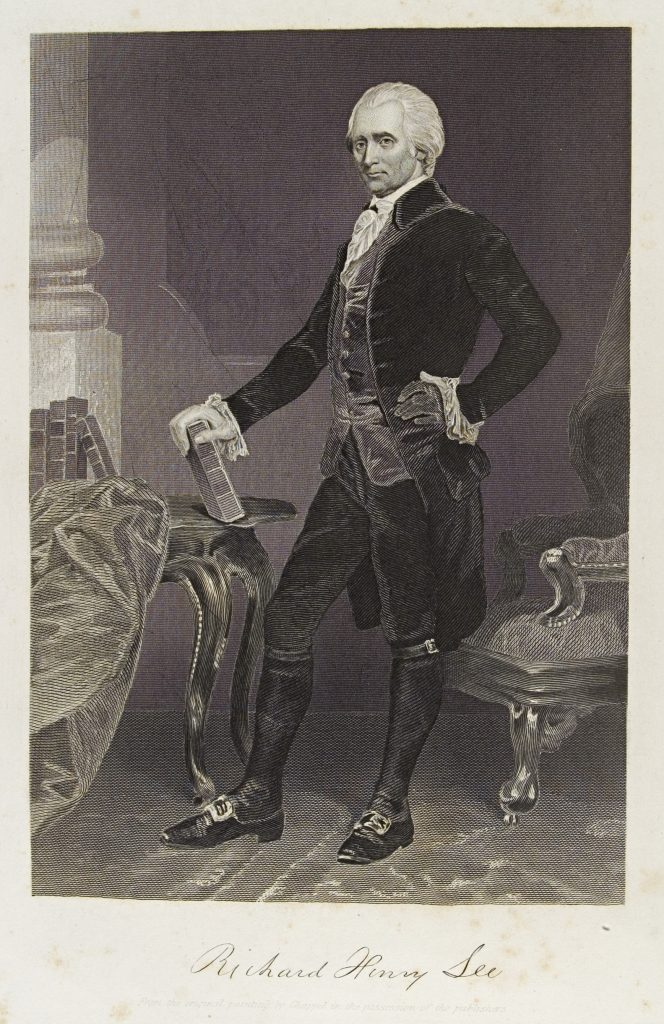 Engraving of Richard Henry Lee