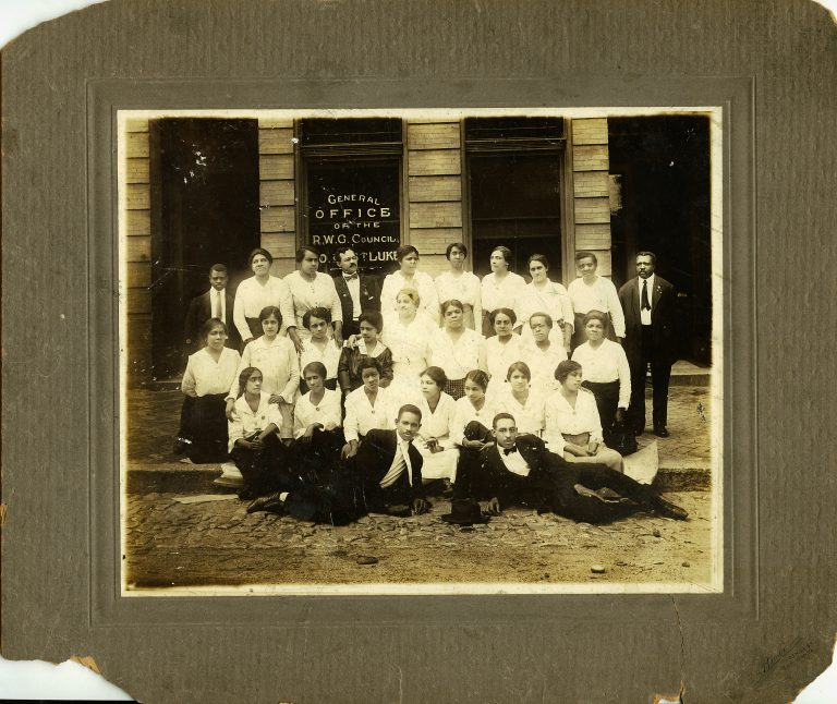 Maggie Walker and Staff Members of the Independent Order of Saint Luke