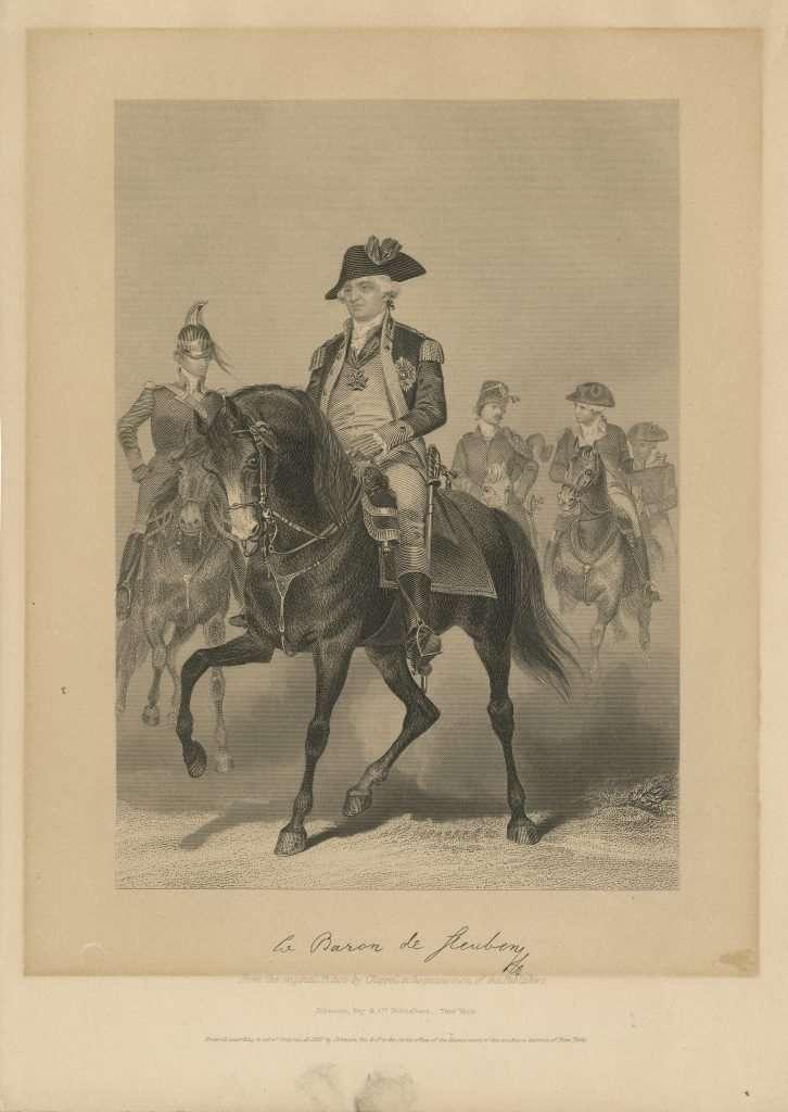 Baron Friedrich Wilhelm von Steuben