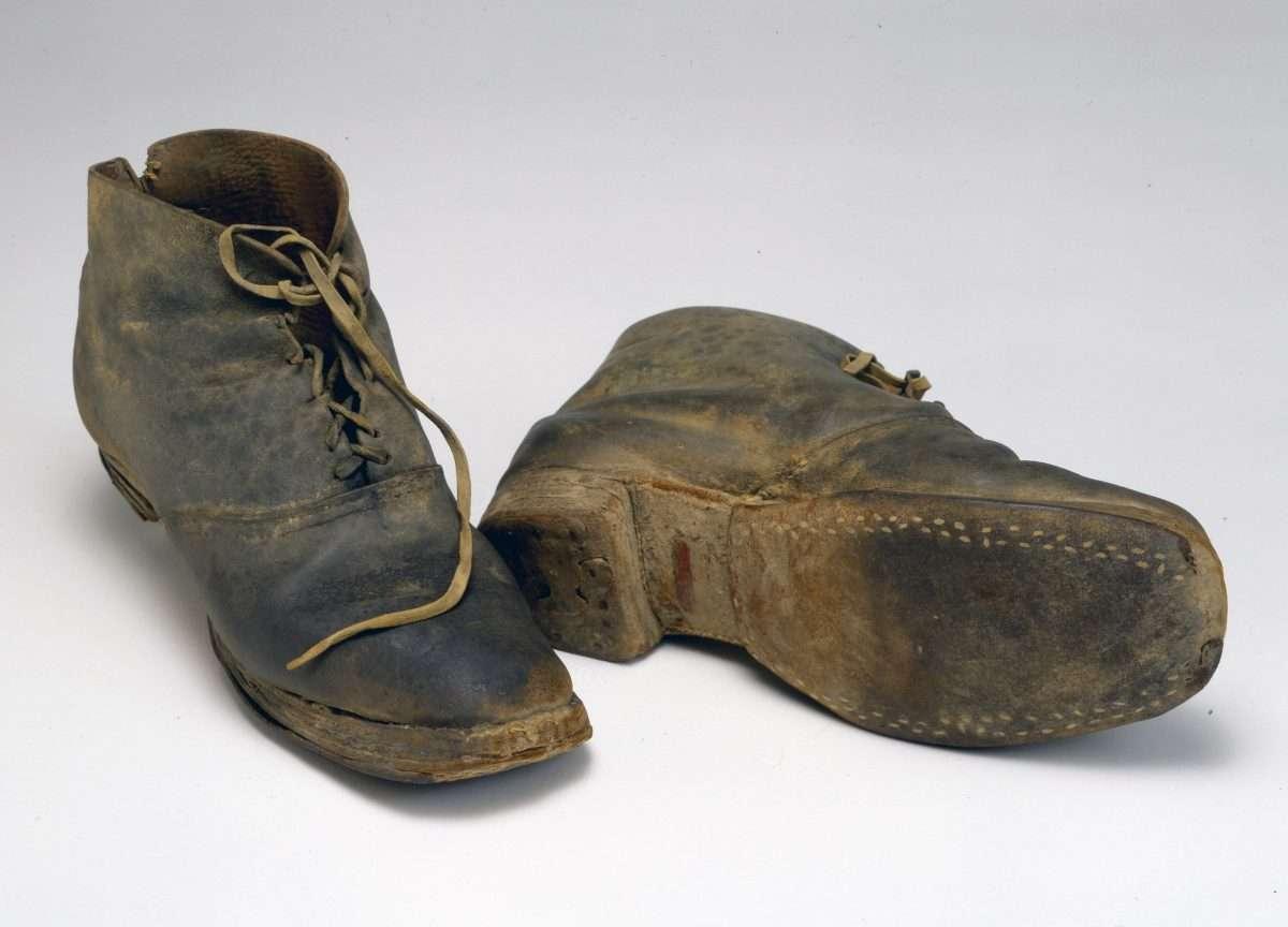 Brogan-Style Shoes