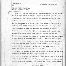 Judgment Against Richard and Mildred Loving (January 6