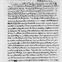 Letter from Thomas Jefferson to Ezra Stiles Ely (June 25