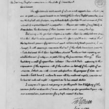 Letter from Thomas Jefferson to the Danbury Baptist Association (January 1