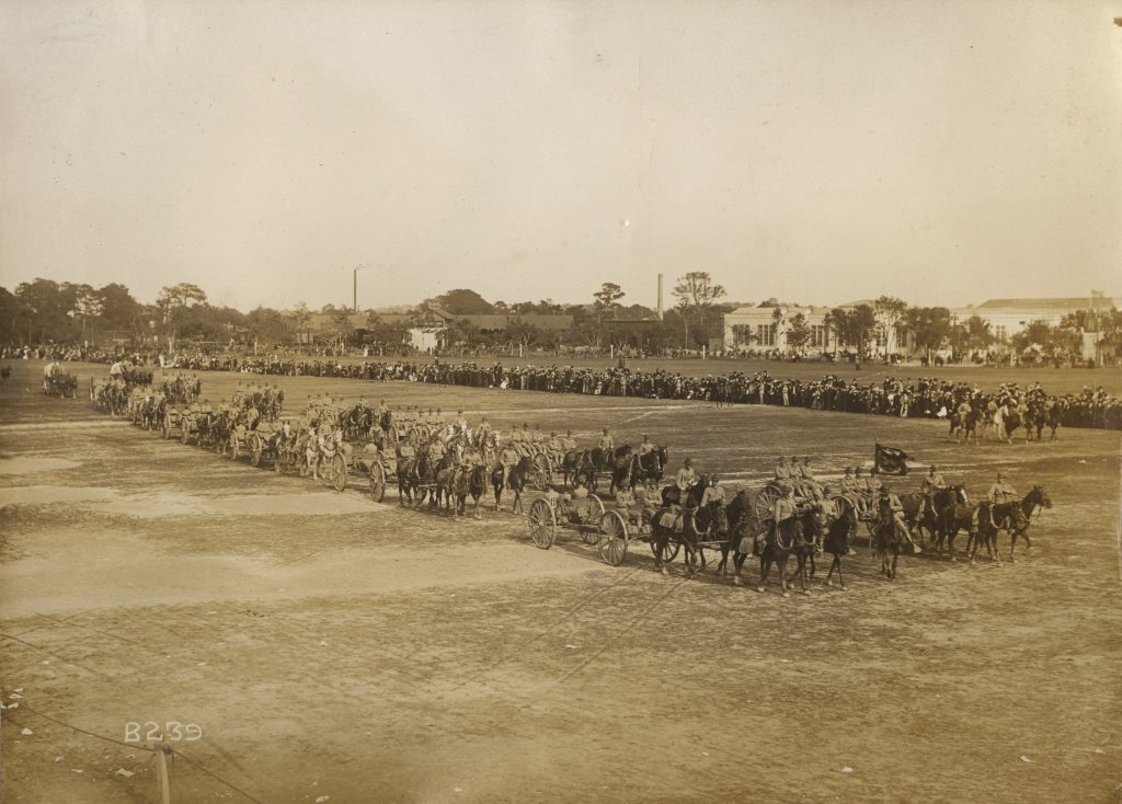 Richmond Howitzers on Parade