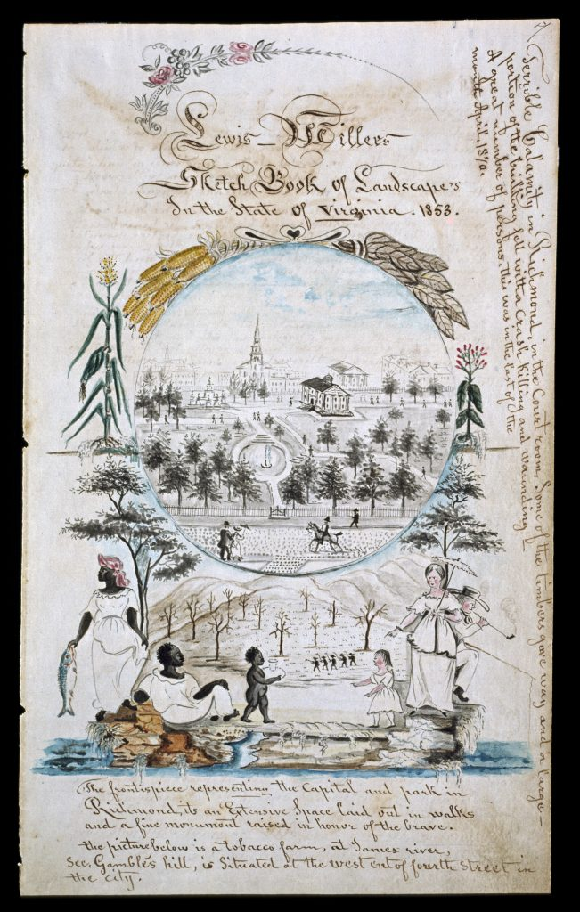 Sketch Book of Landscape's In the State of Virginia.