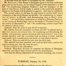 Journal of the Senate of the Commonwealth of Virginia (1785—1786) Page 81