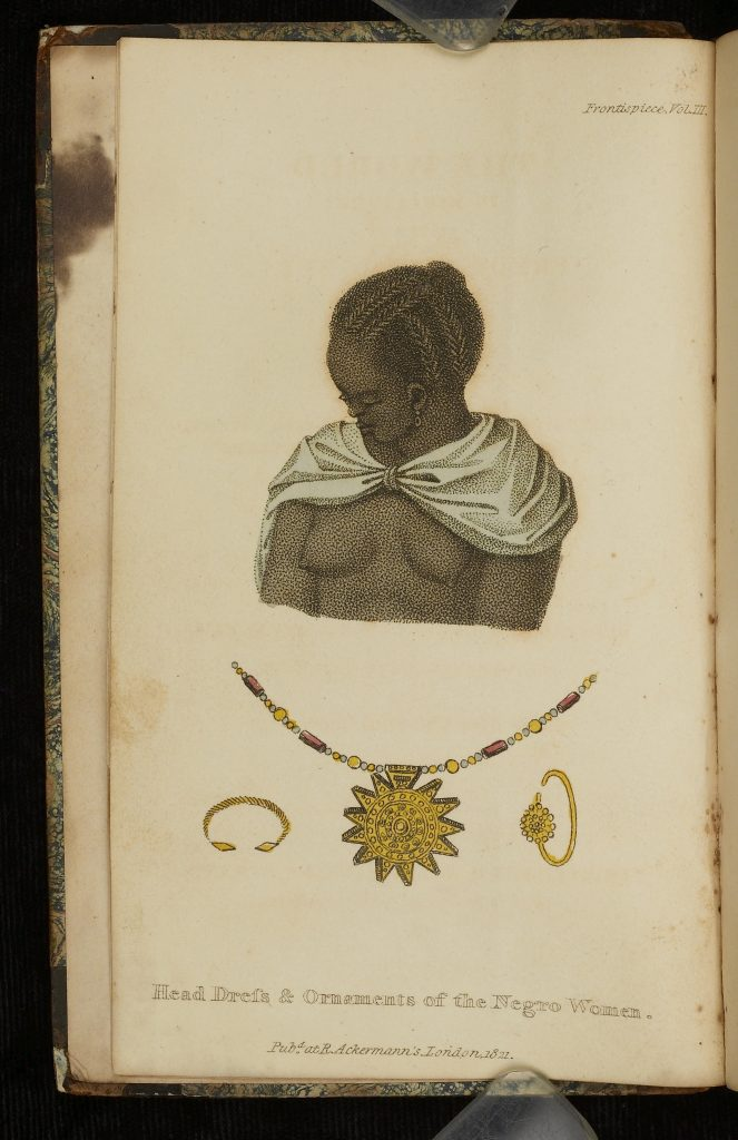 Head Dress & Ornaments of the Negro Women.