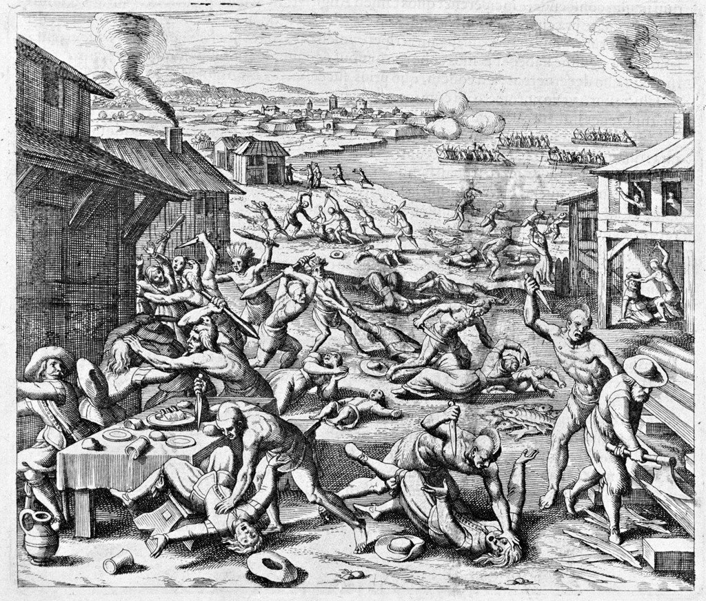 The Massacre of the Settlers
