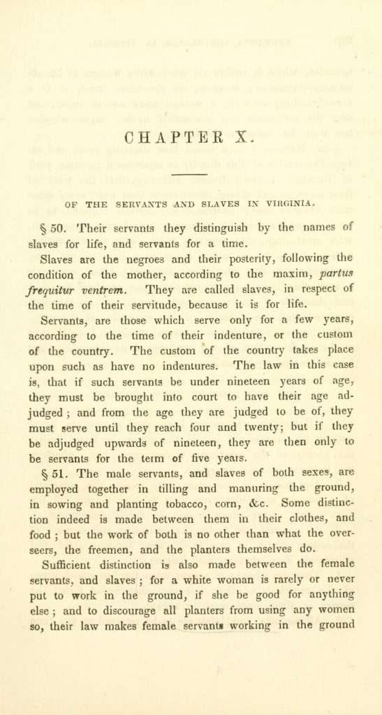 Beverley's History of Virginia