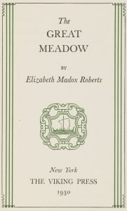 Great Meadow, The (1930)