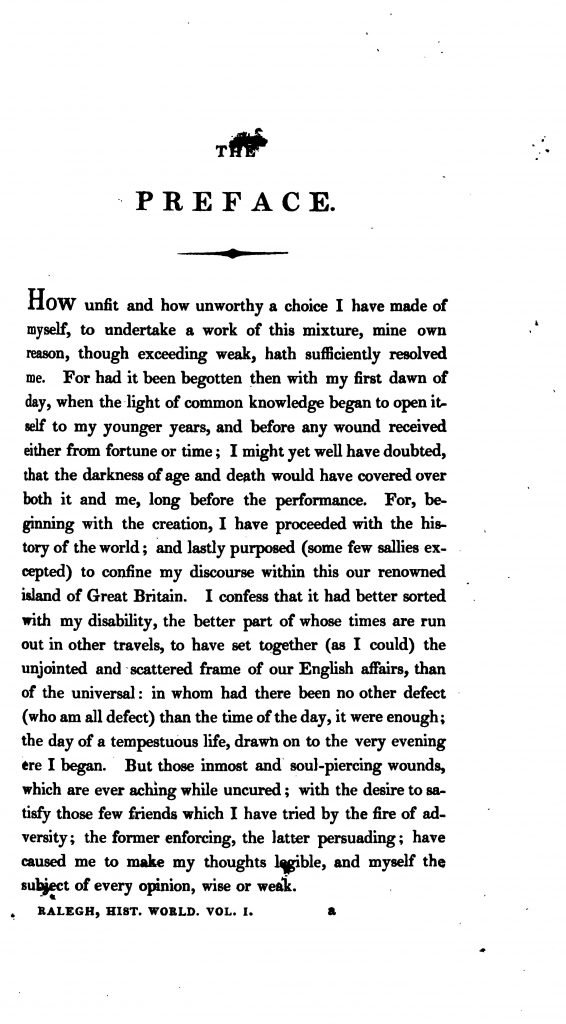 The Works of Sir Walter Ralegh