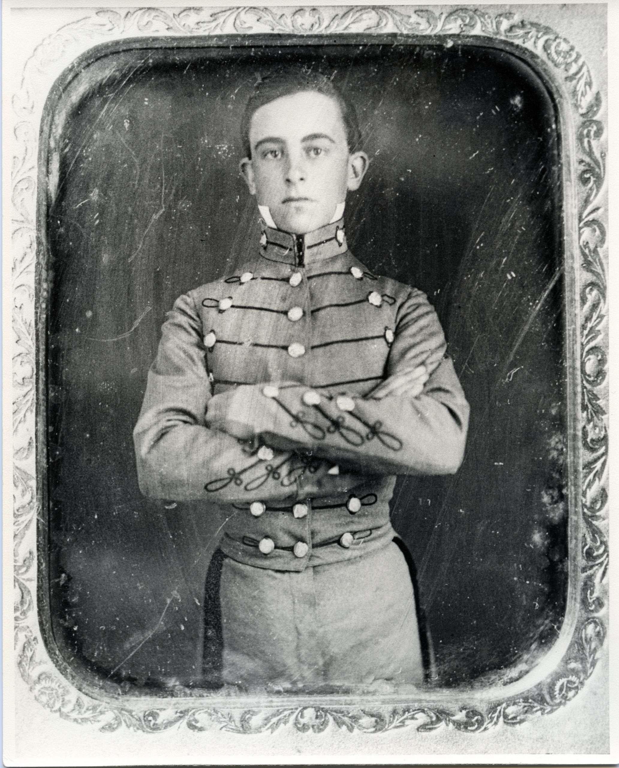 Walter H. Taylor as a VMI Cadet
