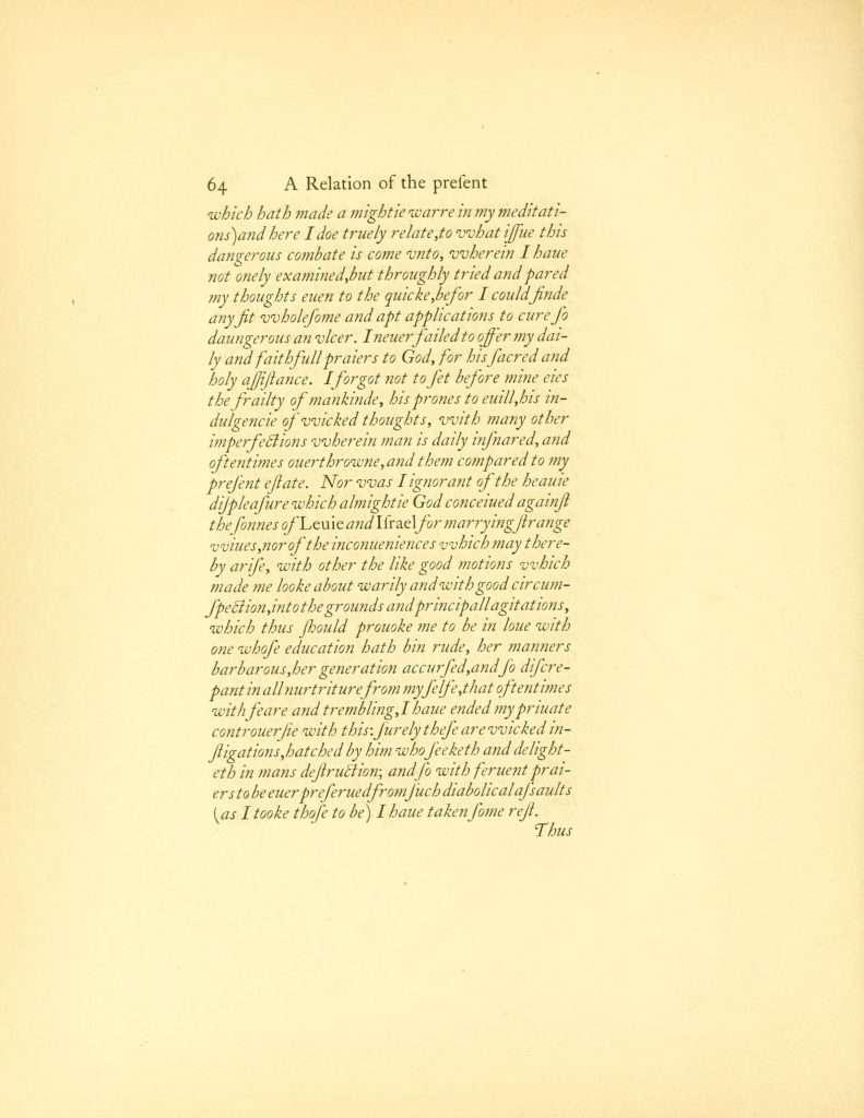 A True Discourse of the Present Estate of Virginia