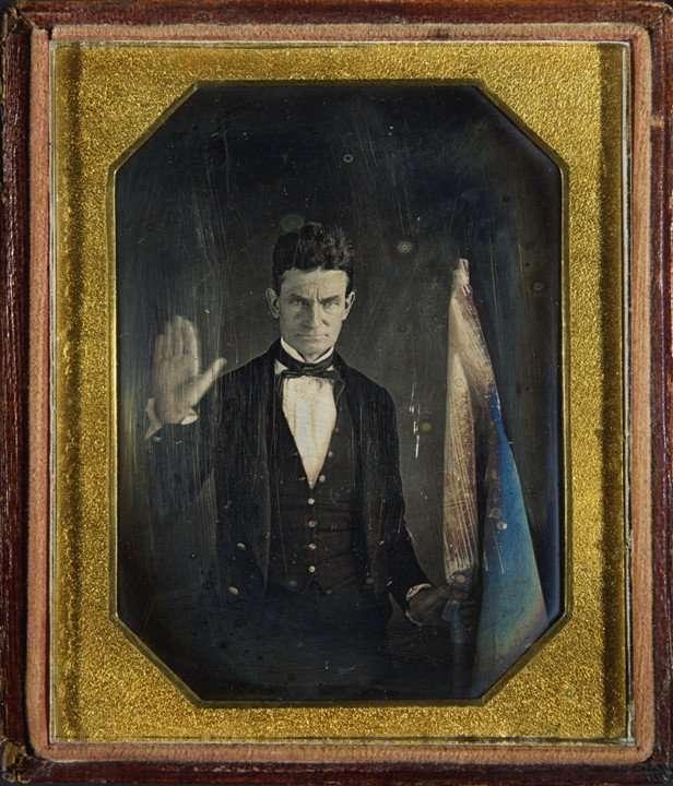 Daguerreotype of John Brown