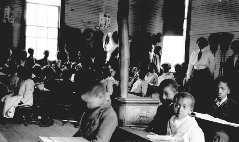 Inside a Rosenwald School