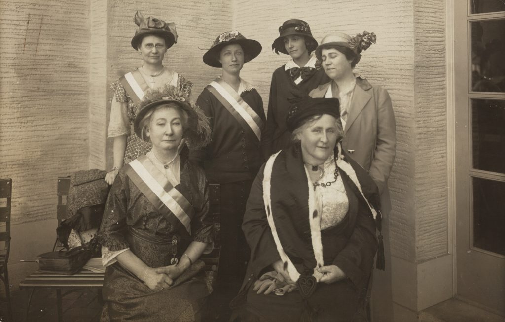 Woman's Party Booth at San Francisco Exposition