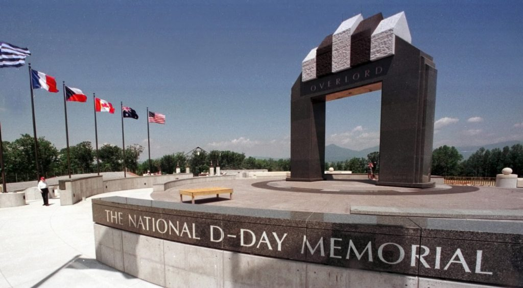 Construction of the National D-Day Memorial