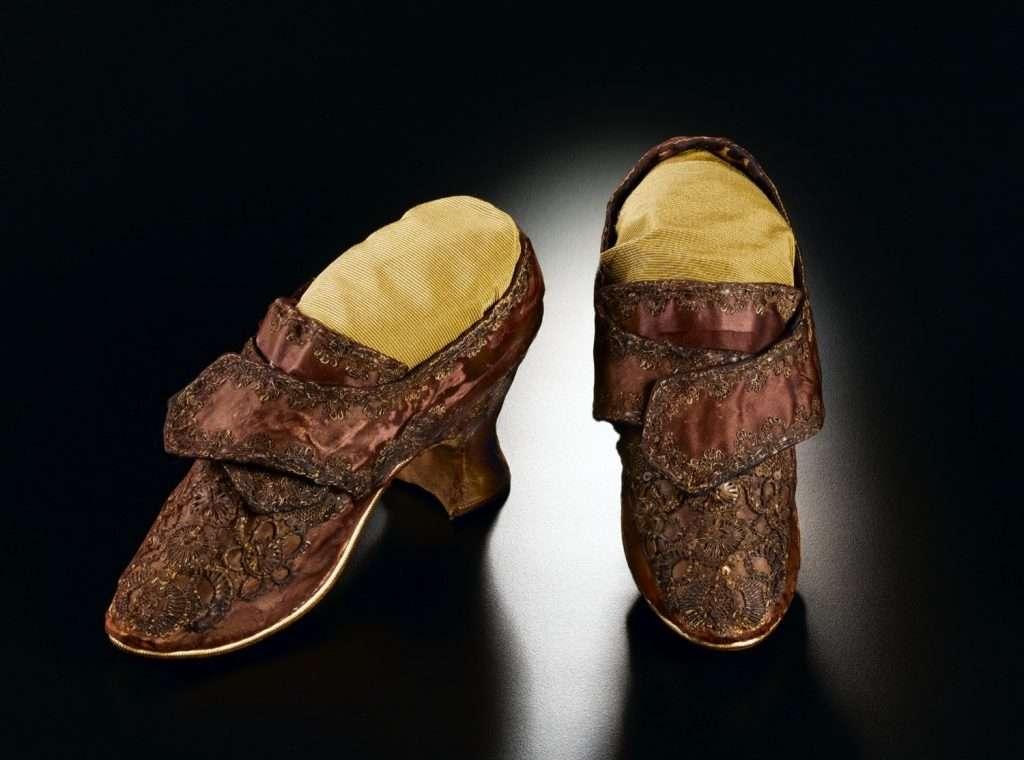 Martha Washington's Wedding Shoes