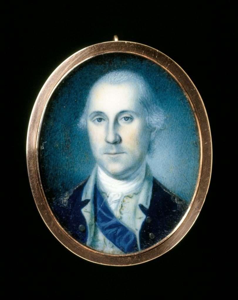 Miniature Portrait of George Washington