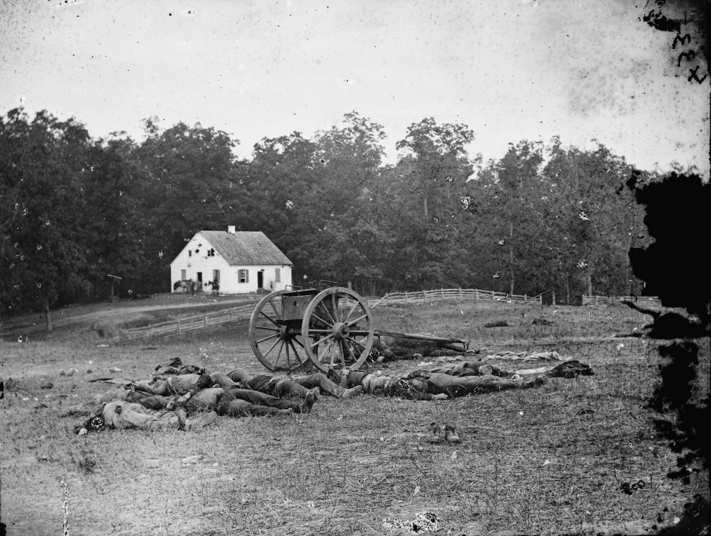 Confederate Dead in Front of Dunker Church