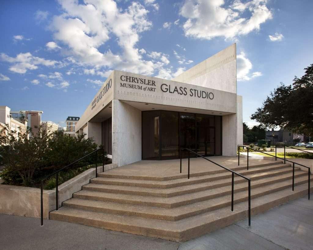 Chrysler Museum Glass Studio