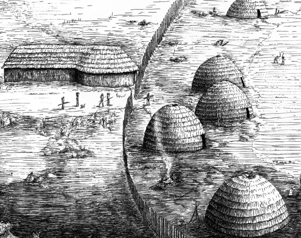 Precolonial Indian Settlement