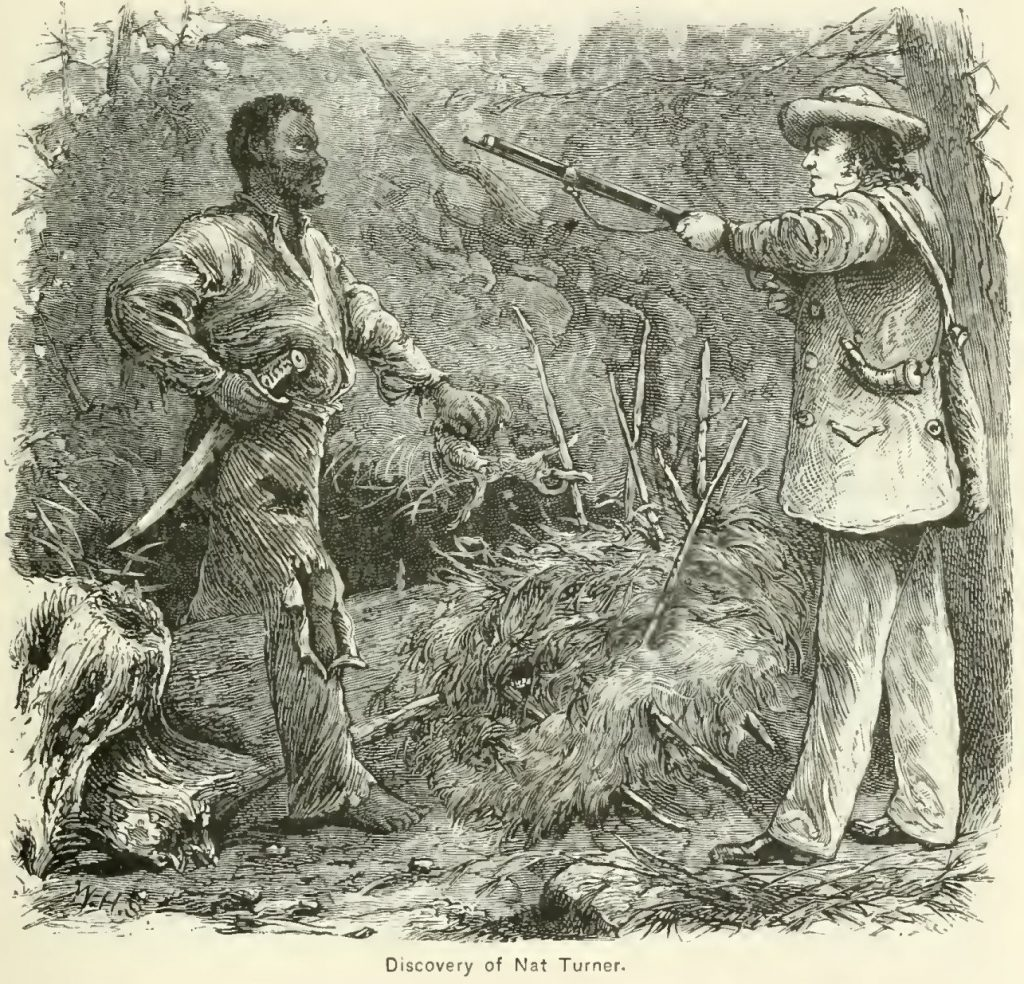 Discovery of Nat Turner