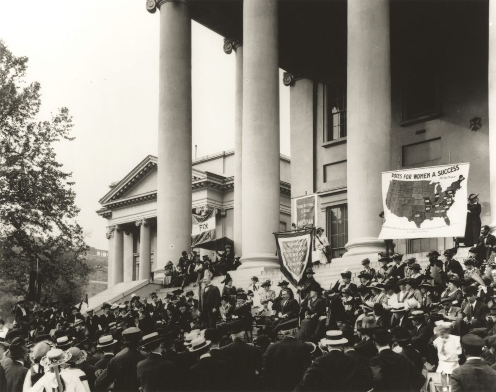Equal Suffrage League of Virginia Rally