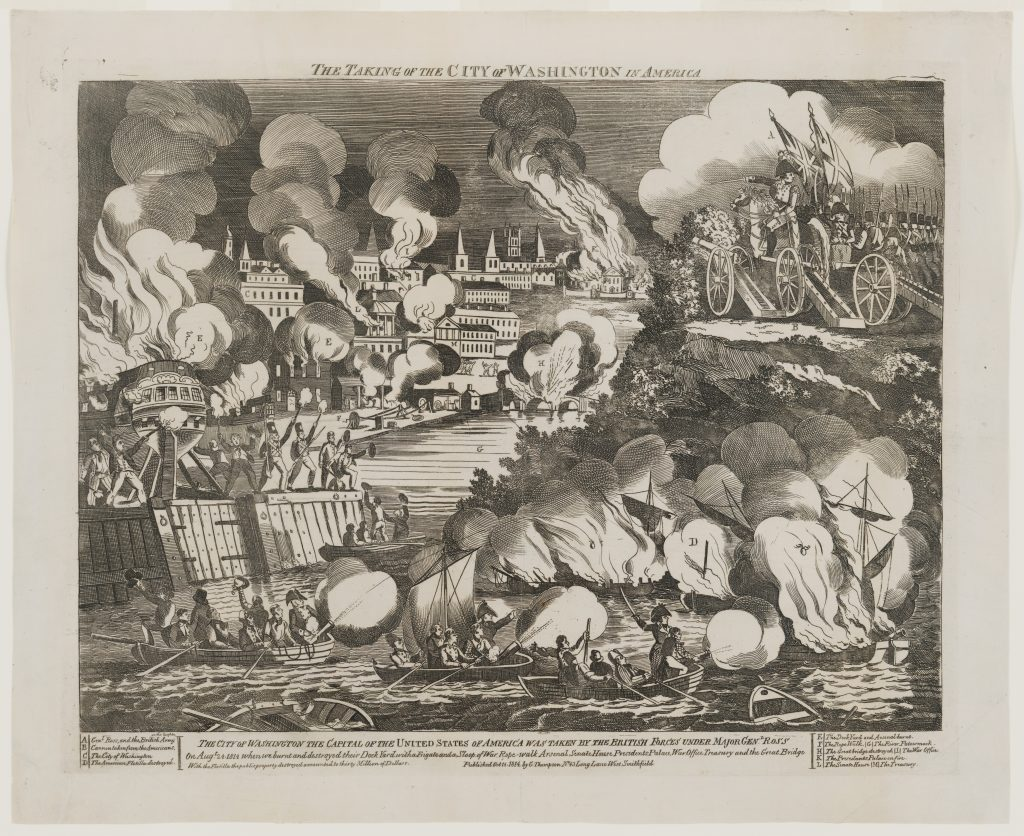 The Taking of the City of Washington in America