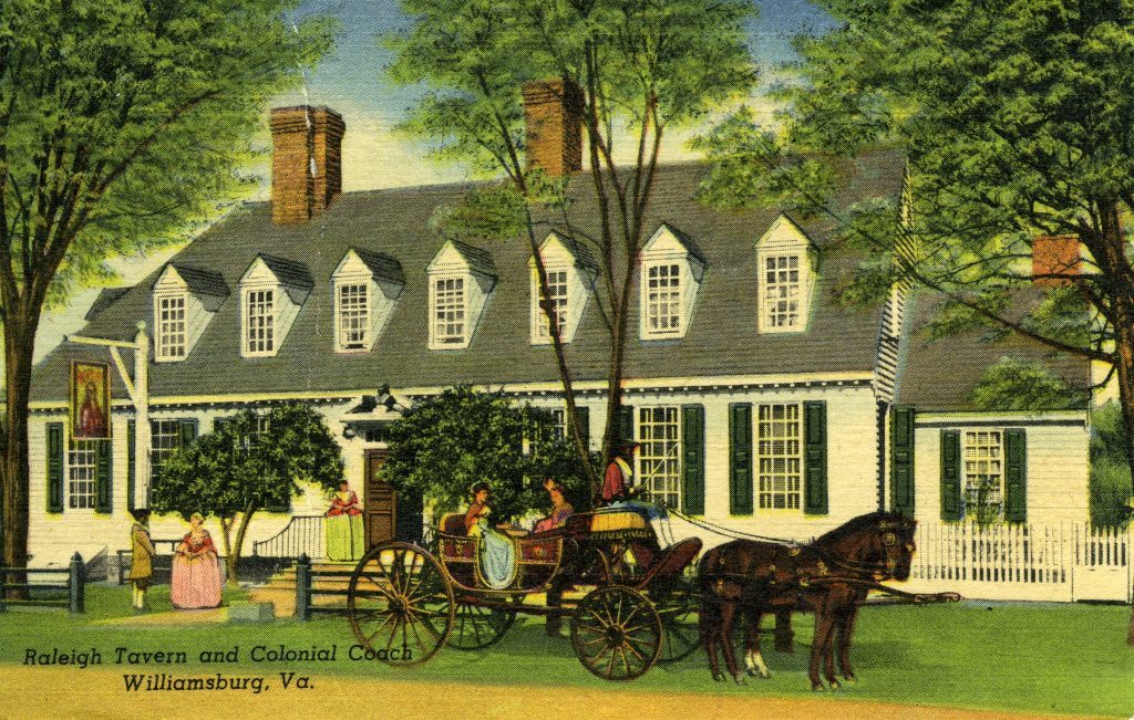 Raleigh Tavern and Colonial Coach