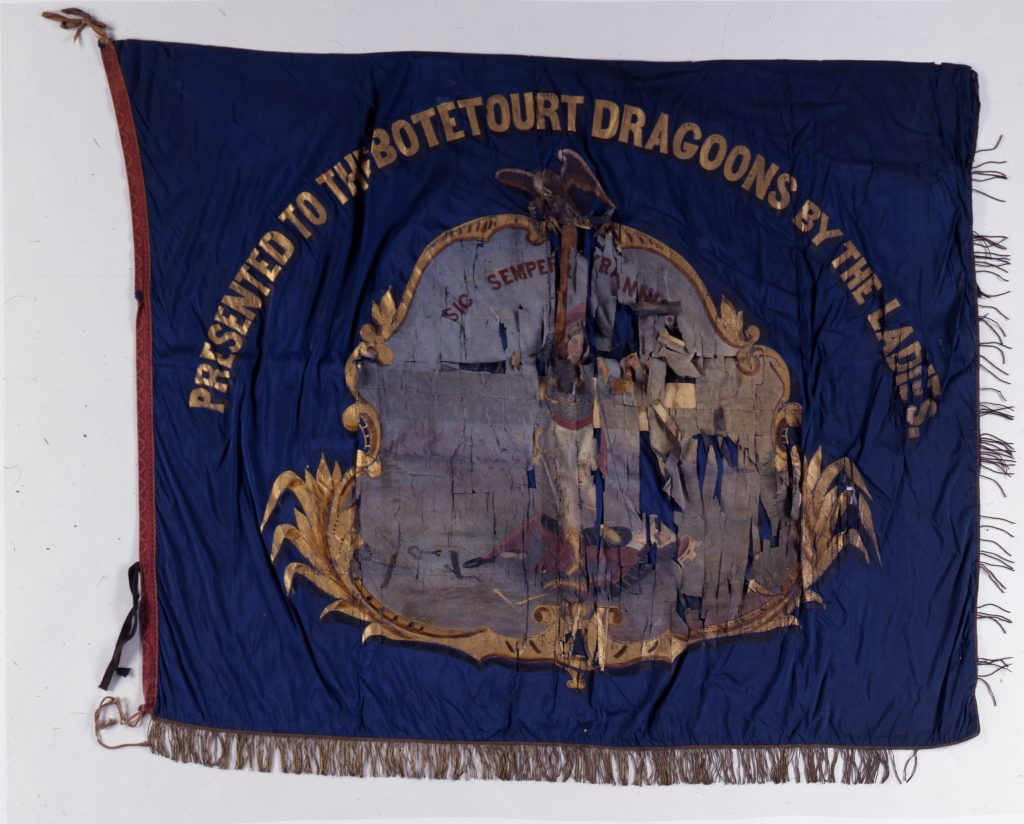 Flag of the Botetourt Dragoons