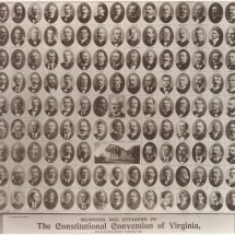 Members and Officers of The Constitutional Convention of Virginia