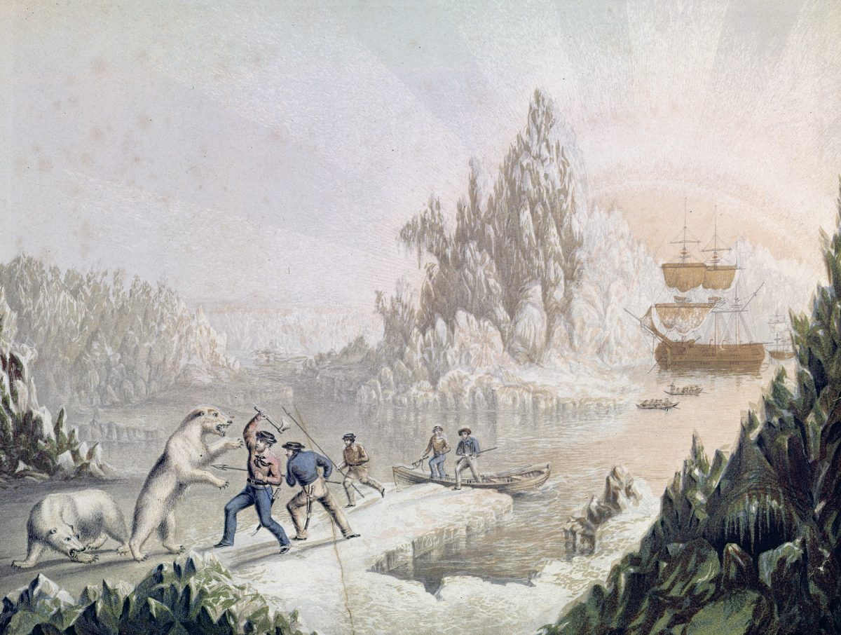 The Arctic Expedition in Search of Sir John Franklin