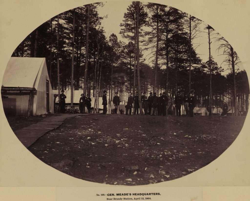 Gen. Meade's Headquarters