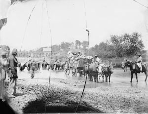 Refugees during the Civil War