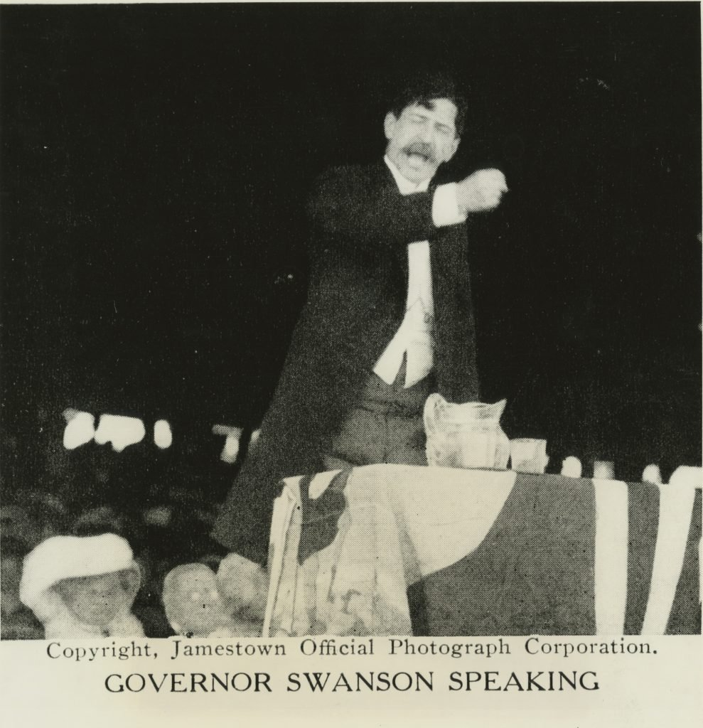 Governor Swanson Speaking