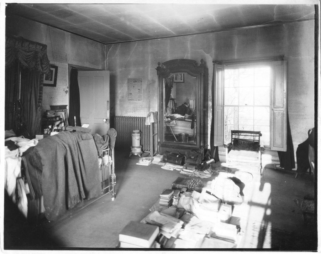 John Armstrong Chaloner in His Bedroom