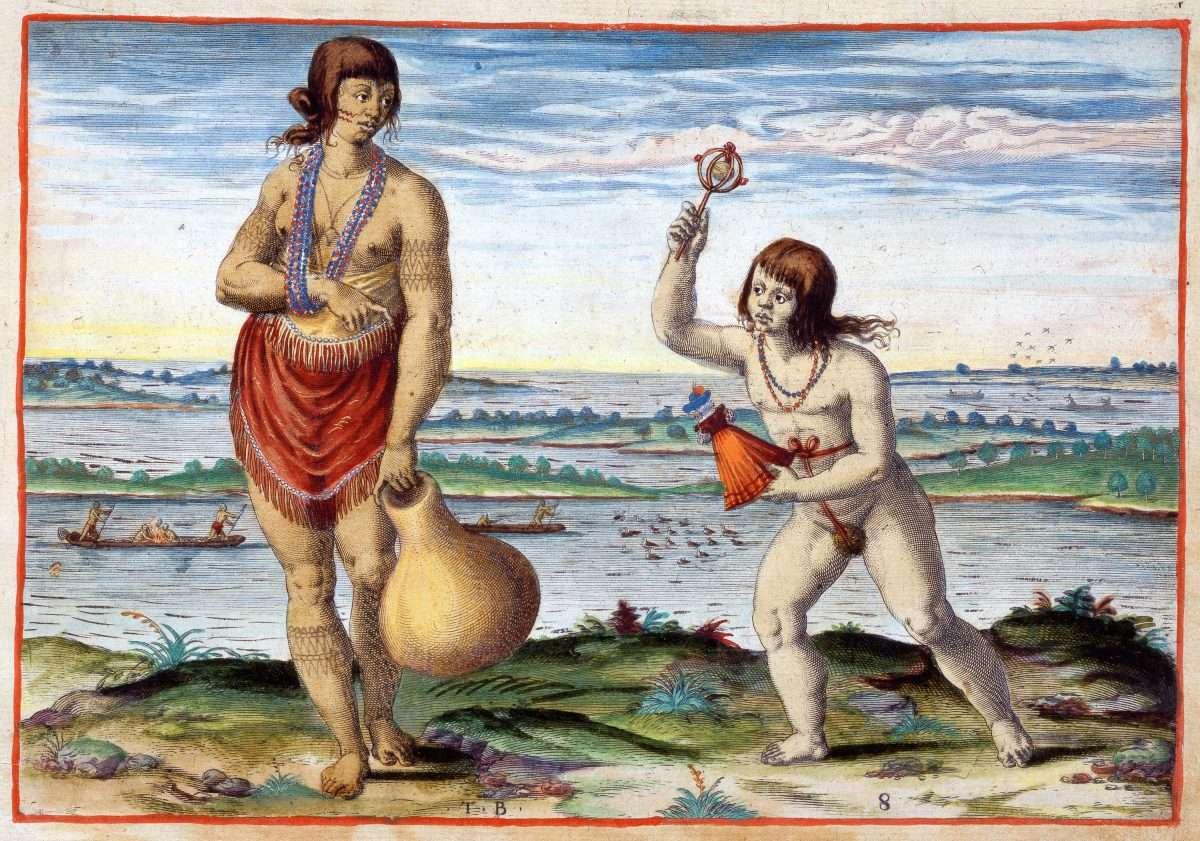 Nobilis Matrona Pomeioocenfis (A Noble Married Woman of Pomeiooc)