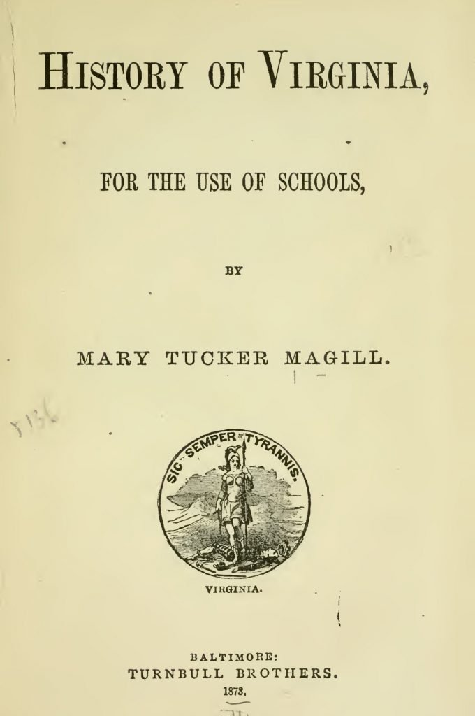 History of Virginia for the Use of Schools