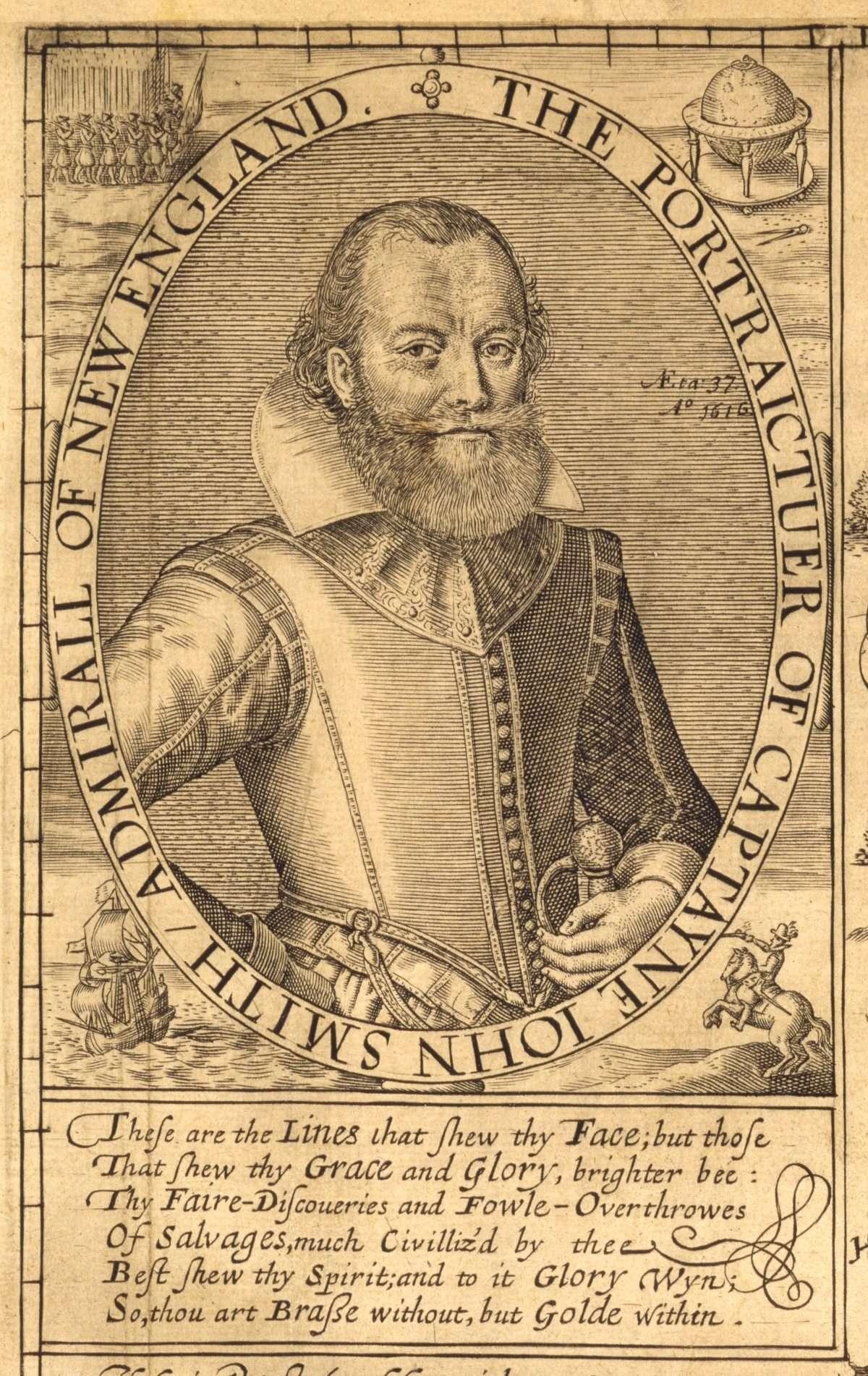 The Portraictuer of Captayne John Smith