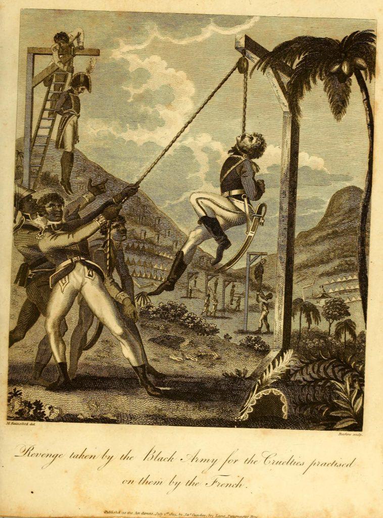 Slave Uprising in Saint-Domingue