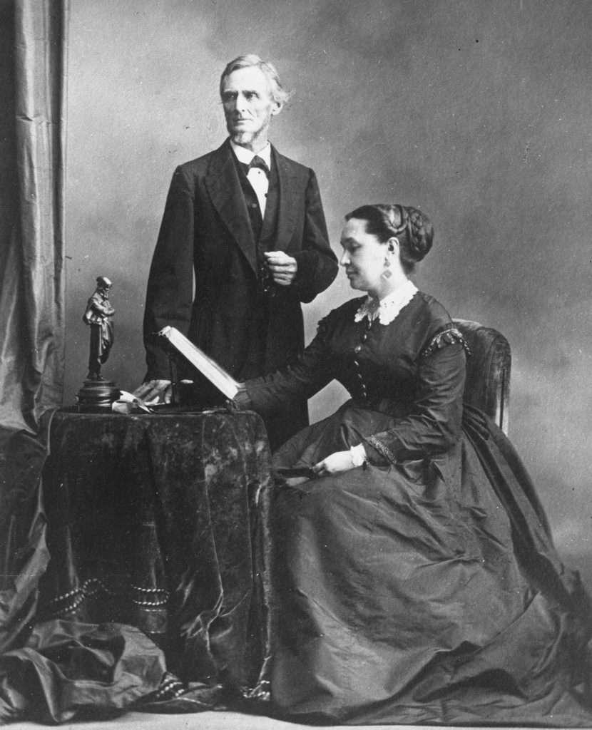 Jefferson and Varina Davis in Montreal