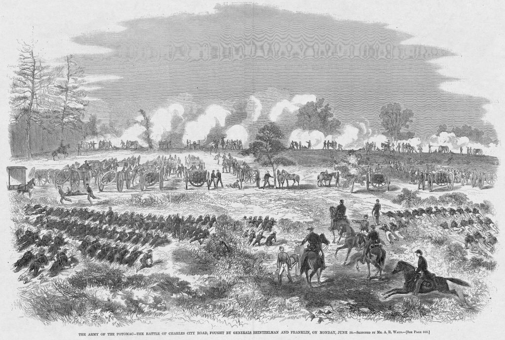 The Army of the Potomac - the Battle of Charles City Road