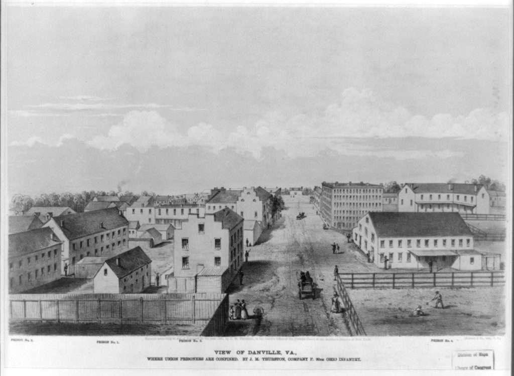 Danville Prisons During the Civil War