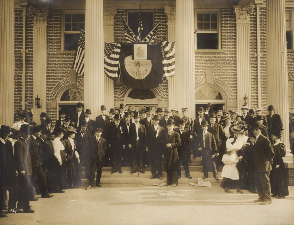 Governor Claude Swanson and the 1907 Jamestown Exposition